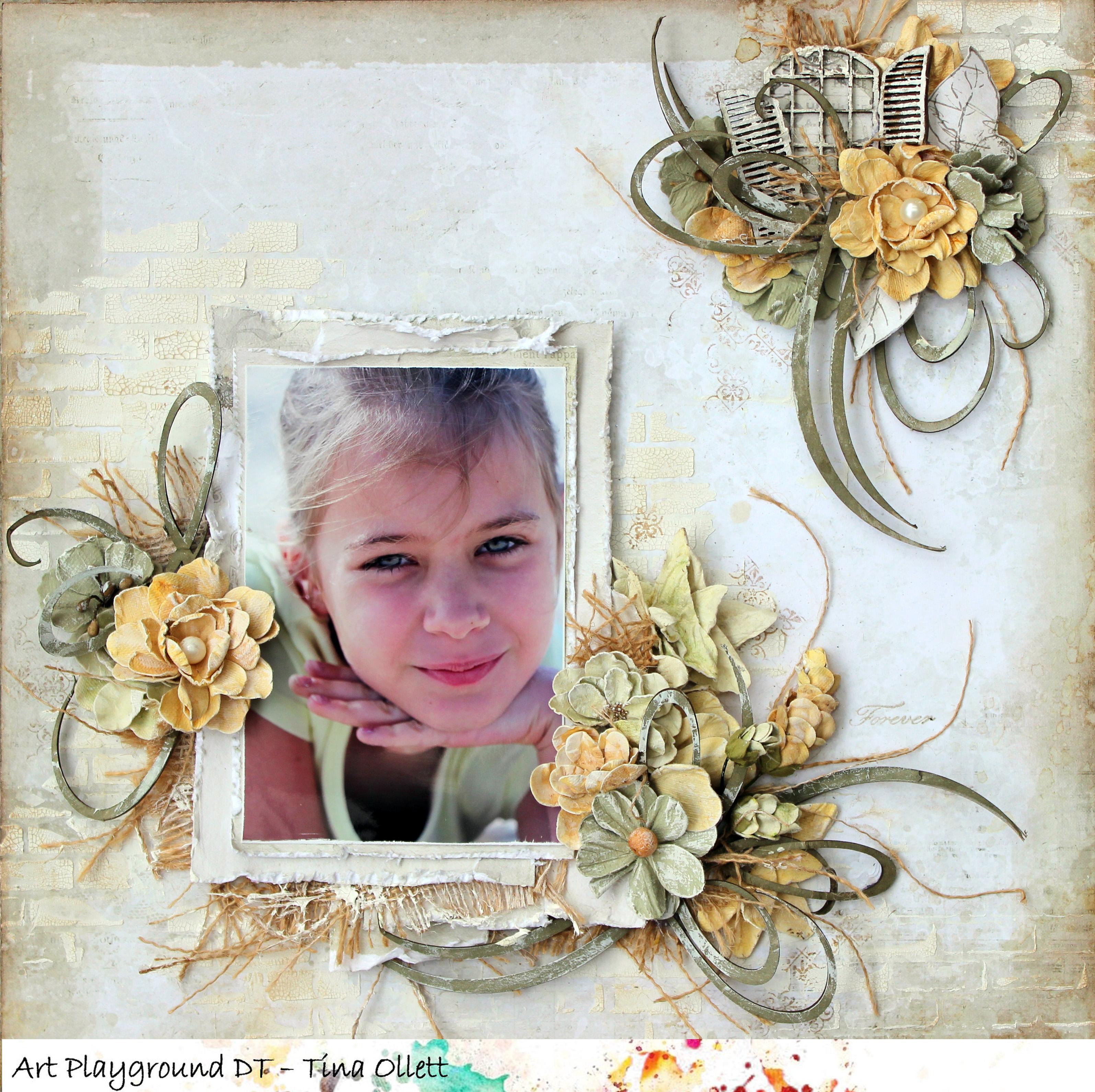 """""""Forever"""" Art Playground Blog DT Creation"""