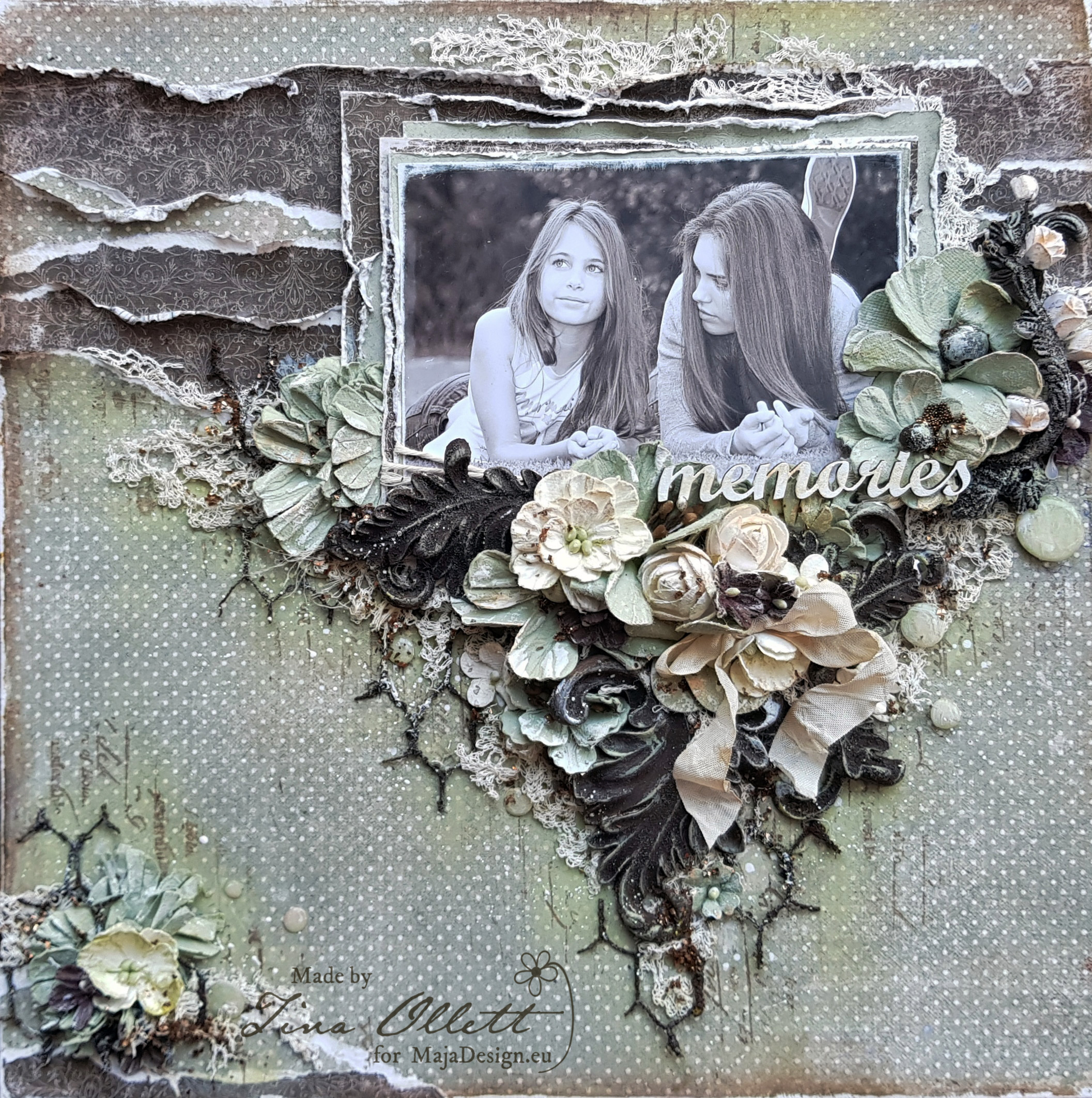 """Memories"" Maja Design Moodboard Inspiration Creation"